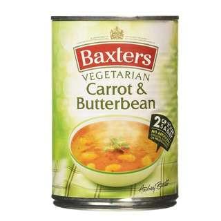 Baxters Carrot & Butter Bean Soup
