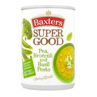 Baxters Super Good Pea, Broccoli & Basil Pesto Soup