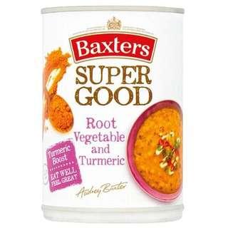 Baxters Super Good Root Vegetable & Turmeric Soup