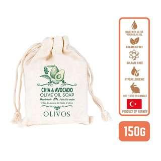 Olivos Olive Oil Chia & avocado Soap