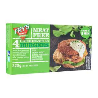 FRY'S Chicken-Style Burgers