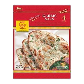 DEEP Garlic Naan