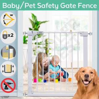 ToddlerFinest Auto Close Safety Baby Kids Pets Gate Fence