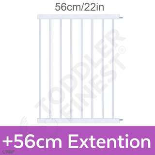 ToddlerFinest +56cm Extension Auto Close Safety Baby Gate