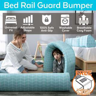 ToddlerFinest Bed Rail Guard Bumper Baby Safety Guardrail