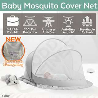 ToddlerFinest Baby Foldable Mosquito Net Insect Crib Cover