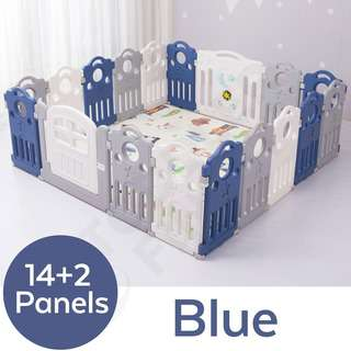 ToddlerFinest Baby Playpen Kids Activity Playard 16B Fences