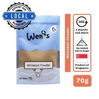 Wen's Whitebait Powder Ziplock Pouch