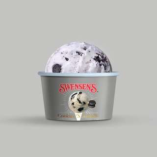 Swensen's Cookies 'N' Cream Ice Cream Mini Cup