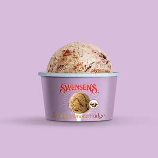 Swensen's Mocha Almond Fudge Ice Cream Mini Cup