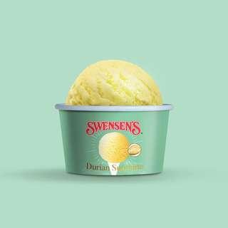 Swensen's Durian Supreme Ice Cream Mini Cup