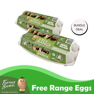 Farmer Brown Free Range Eggs Bundle Pack