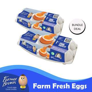 Farmer Brown Farm Fresh Eggs Bundle Pack