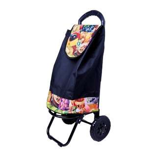 Dolphin Collection Market Trolley 47X28X26Cm - 34L (Fruits)