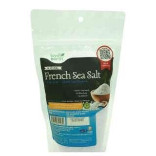 Love Earth French Sea Salt 350g (Packet)