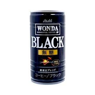 Asahi Wonda black coffee 185g