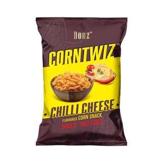 BONZ CORNTWIZ Corn Snack - Chilli Cheese