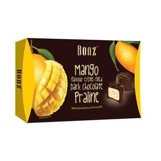BONZ Dark Chocolate Creme Praline - Mango
