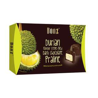 BONZ Dark Chocolate Creme Praline - Durian