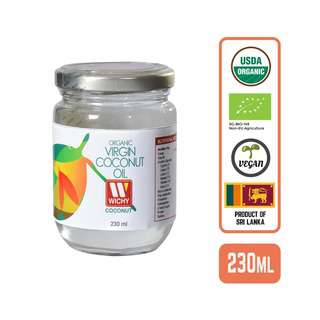 Wichy Organic Coconut Oil - Virgin Cold Pressed