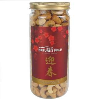 Nature's Field Baked Salted Cashew Nuts