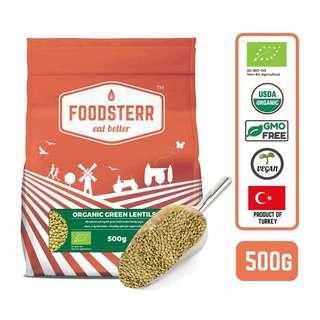Foodsterr Organic Green Lentils