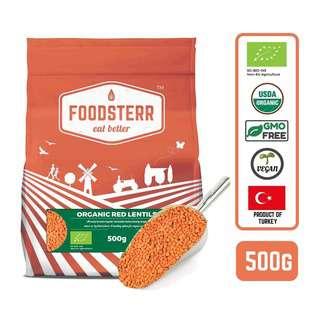 Foodsterr Organic Red Lentils