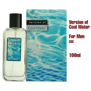 Q PERFUMES VERSION OF COOL WATER MEN EDT