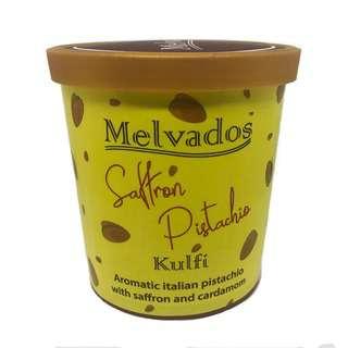MELVADOS Saffron Pistachio Kulfi