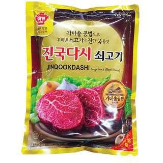 CJ Dasida Beef Flavor Soup Stock