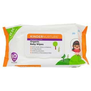 KinderNurture Organic Baby Wipes