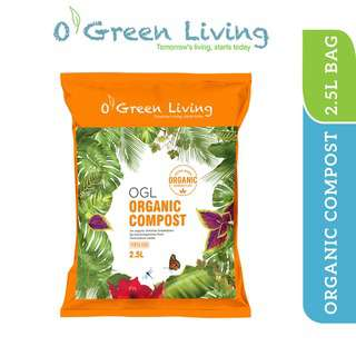 Organic Green Living (OGL) Organic Compost