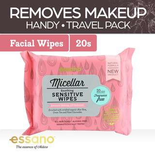 Essano Micellar Soothing Sensitive Facial Wipes