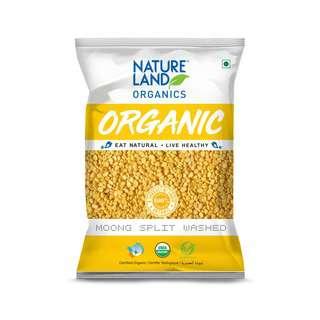 Natureland Organics Moong Split Washed