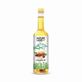 Natureland Organics Groundnut Oil