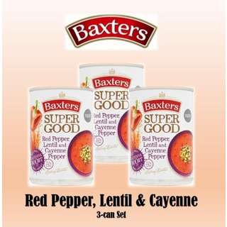 Baxters Super Good Red Pepper, Lentil & Cayenne Pepper Soup