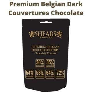 Shears Belgian Dark Pure Chocolate B58 ideal for Baking too