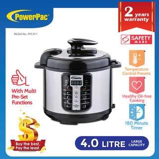 PowerPac (PPC411) Pressure Cooker