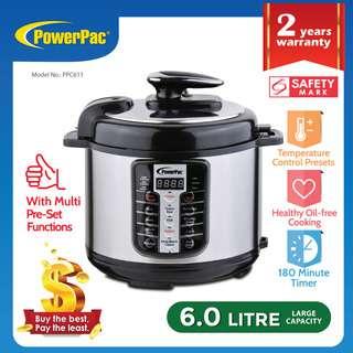 PowerPac (PPC611) Pressure Cooker