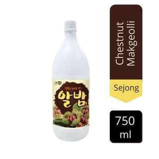 Sejong Chestnut Makgeolli