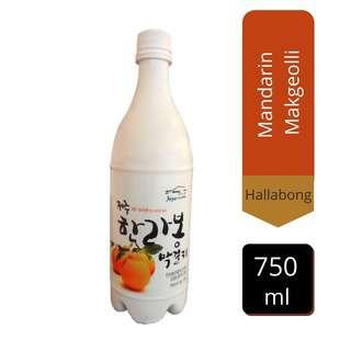 Hallabong Mandarin Makgeolli