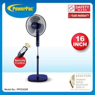 PowerPac (PPFS300R) 16 Inch Stand Fan