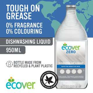 Ecover ZERO Washing Up Liquid 950ml