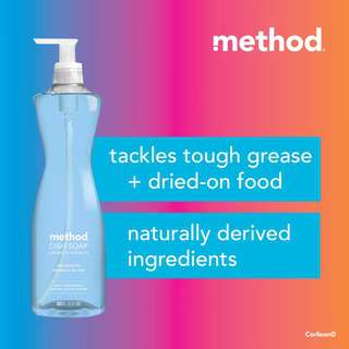 Method dish soap - sea mineral
