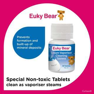 Euky Bear Steam Vaporiser Cleaning Tablets