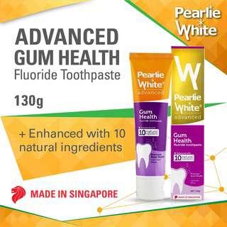 Pearlie White Advanced Gum Health Enhanced Fluoride Toothpast