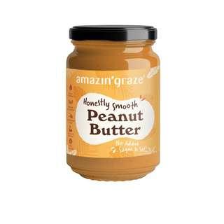 Amazin' Graze Smooth Peanut Butter 350g