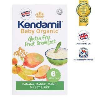 Kendamil Organic Gluten Free Fruit Breakfast Porridge