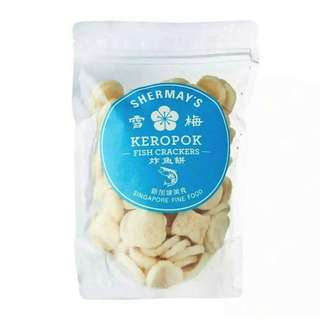 Shermay's Singapore Fine Food Fish Cracker Packet