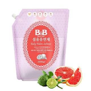 B&B Baby Fabric Softener, Bergamot (Refill)
